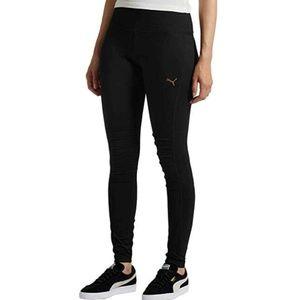 NWT PUMA Ladies Moto Tights Leggings Ribbed Pants